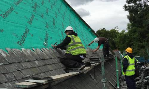 Slating & Flat Roofing